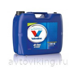 Масло моторное 10W40 Valvoline All Fleet Extreme 20л.  VE13766