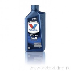 Масло моторное VALVOLINE ALL-CLIMATE 5W-40 1L